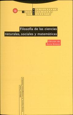 Filosofia de las ciencias naturales, sociales y matematicas