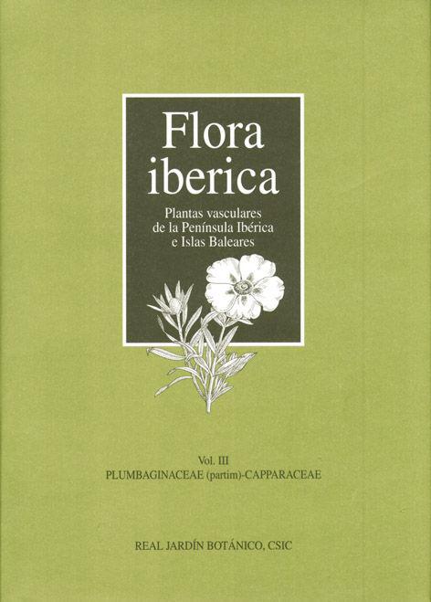Flora iberica iii plubaginaceae