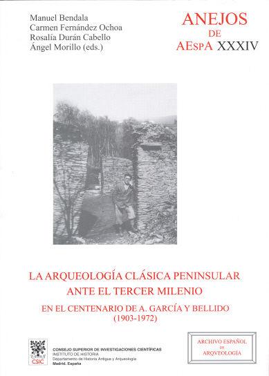 Arqueologia clasica peninsular ante tercer milenio