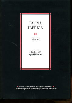 Fauna iberica 28 hemiptera aphididae iii