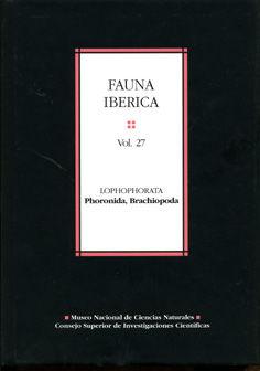 Fauna iberiva 27 lophophorata phoronida brachiopoda