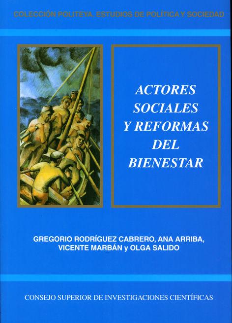 Actores sociales y reformas del bienestar