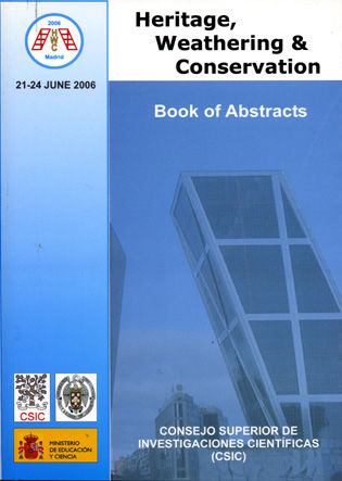Heritage weathering & conservation book of abstracts