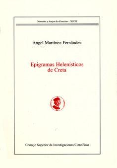 Epigramas helenisticos de creta