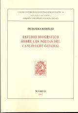 Estudio biografico sobre los poetas del cancionero general