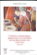 Vivir en la edad media barcelona y su entorno siglos xiii