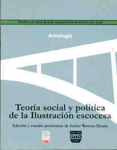 Teoria social y politica ilustracion escocesa