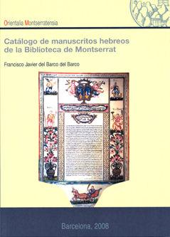 Catalogo de manuscritos hebreos de la biblioteca de montserr
