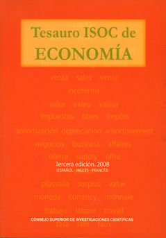 Tesauro isoc de economia 3ªed