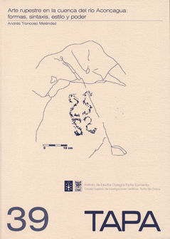 Tapa 39 arte rupestre cuenca del rio aconcagua