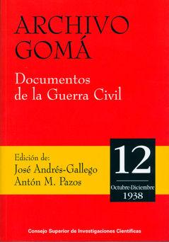 Archivo goma 12 documentos guerra civil