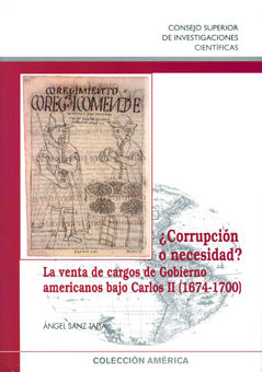 Corrupcion o necesidad venta cargos gobierno carlos ii