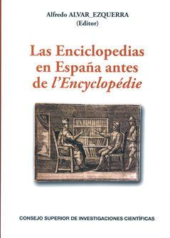 Enciclopedias en españa antes de lencyclopedie