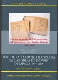 Bibliografia critica ilustrada de las obras de darwin en esp