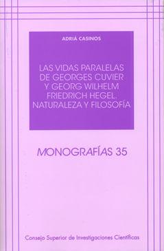 Vidas paralelas de georges cuvier y georg wilhelm friedrich