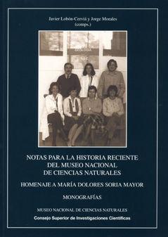 Notas para historia reciente museo nacional ciencias natural