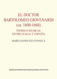 Doctor bartolomeo giovenardi (ca. 1600-1668),el