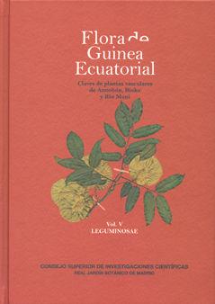 Flora de guinea ecuatorial. vol. v. leguminosae