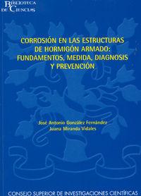 Corrosion en las estructuras de hormigon armado