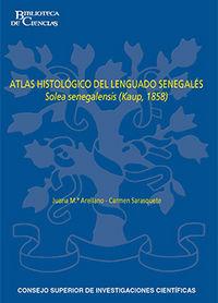 Atlas histologico del lenguado senegales solea senegalensis