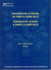 Limnogeology in spain (limnogeologia en españa)