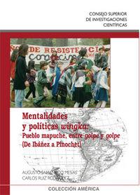 Mentalidades y politicas wingka : pueblo mapuche, entre golp