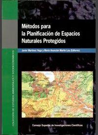 Metodos para la planificacion de espacios naturales protegid