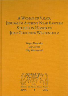 A woman of valor jerusalem ancient near eastern studies in h