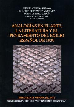 Analogias en el arte literatura y pensamiento exilio español