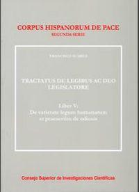 Tractatus de legibus ac deo legislatore