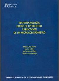 Microtecnologia: diario de un proceso
