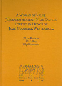 A woman of valor: jerusalem ancient near eastern studies in