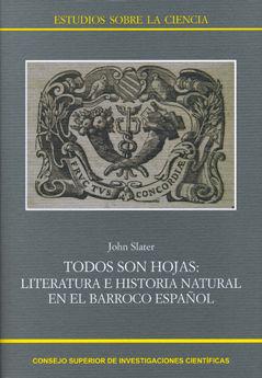 Todos son hojas literatura e historia natural barroco españo