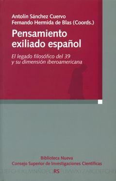 Pensamiento exiliado español