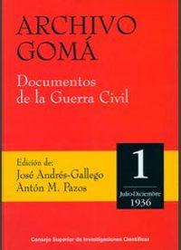 Archivo goma. documentos de la guerra civil