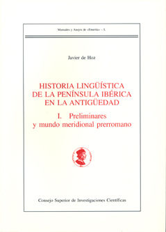 Historia linguistica peninsula iberica en la antiguedad