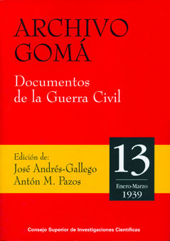 Archivo goma 13 documentos guerra civil