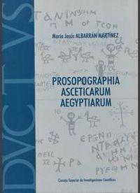 Prosopographia asceticarum aegyptiarum