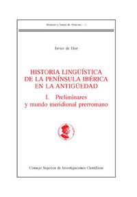 HISTORIA LINGÜISTICA DE LA PENINSULA IBERICA EN LA ANTIGÜEDA