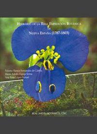 Catalogo del herbario de la real expedicion botanica de nuev