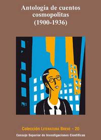 Antologia de cuentos cosmopolitas (1900-1936)
