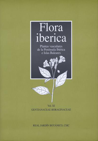 Flora iberica xi gentianaceae