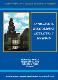 Entre lineas. ensayos sobre literatura y sociedad