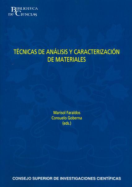 Tecnicas analisis caracterizacion materiales 2ª edicion