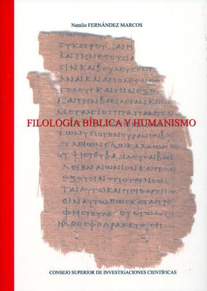 Filologia biblica y humanismo