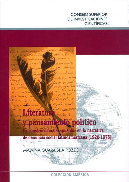 Literatura y pensamiento politico