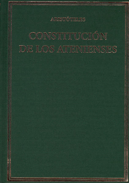 Aristoteles constitucion de los atenienses