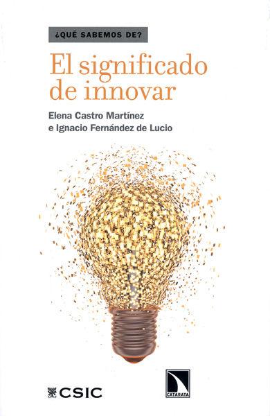 Significado de innovar,el