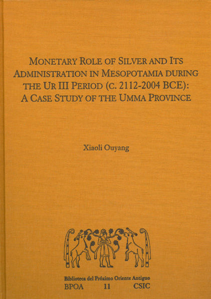 Monetary role of silver and its administration mesopotamia