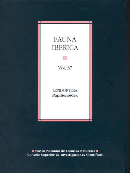 Fauna iberica 37 lepidoptera papilionaidea